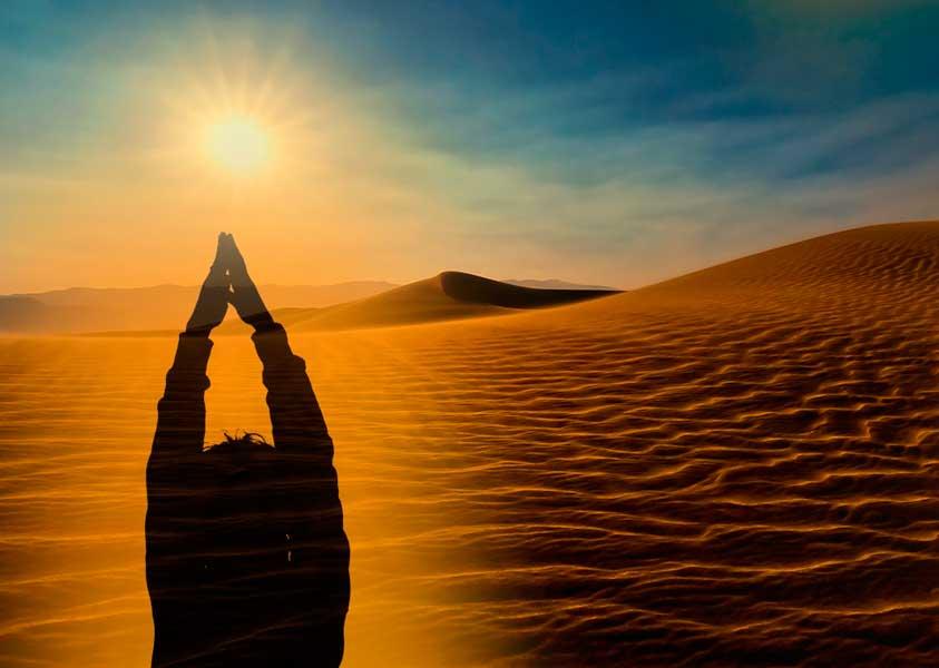 Semana Santa Yoga Desierto
