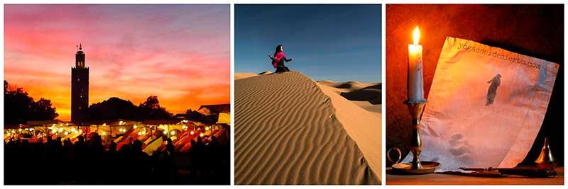 Rutas con Yoga Desierto Mágico