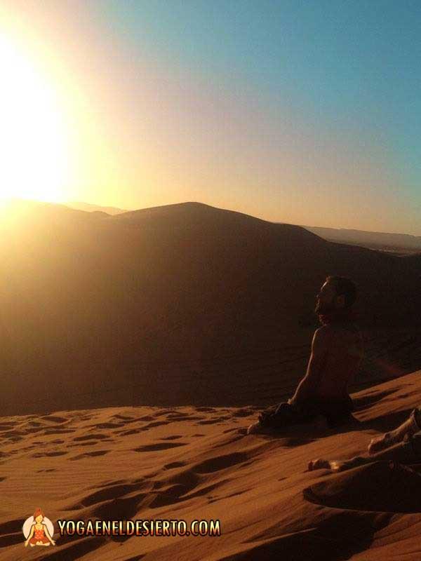 Meditación en medio del Desierto