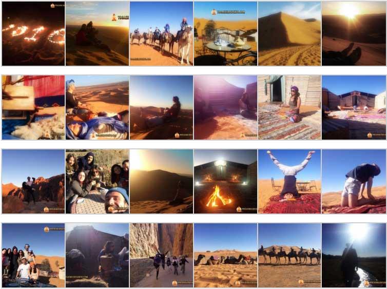 Vacaciones Navidad Nochevieja Año Nuevo en El Desierto - Marruecos