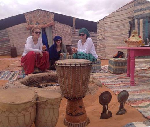 Jaimas en el Desierto Erg Chebbi