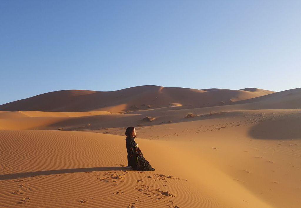 Vacaciones Yoga Desierto Marruecos Verano