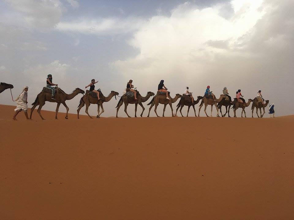 Viaje Yoga Desierto Marruecos