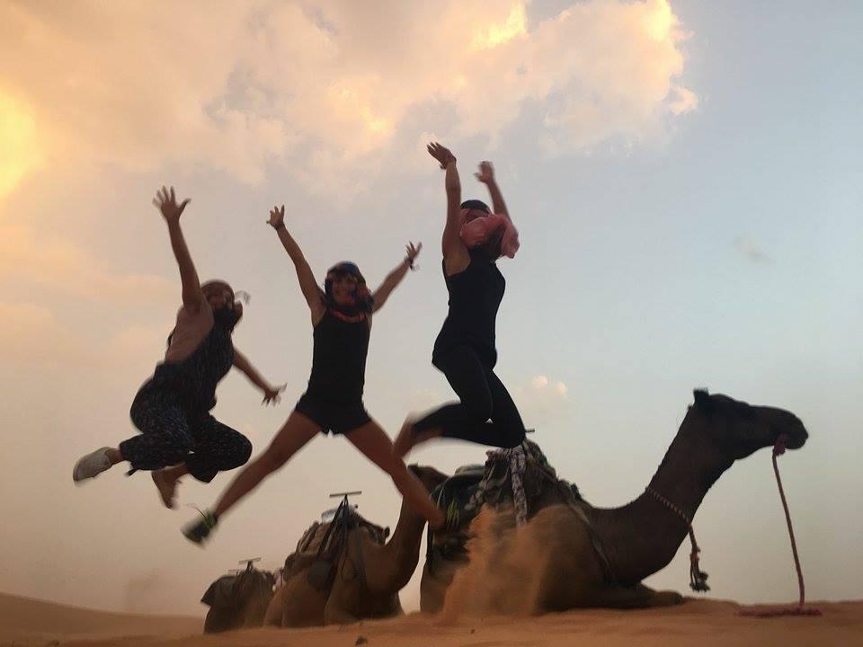 Rutas con Yoga. Compartiendo en el Desierto